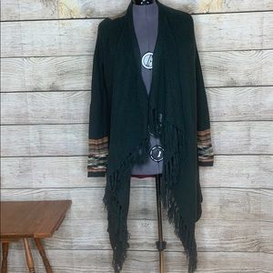 Miss Me small open front cardigan sweater